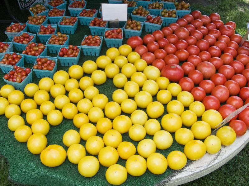 Photos of Local Produce from the Farmers Market