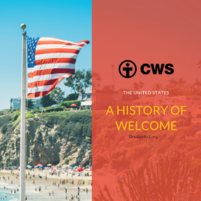 Since 1946, CWS has welcomed refugees to the United States.