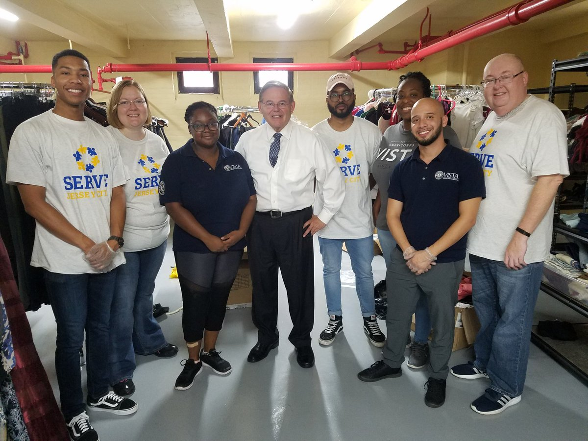 9/11 National Day of Service at St. Peter's University Campus Kitchen with Sen. Bob Menendez