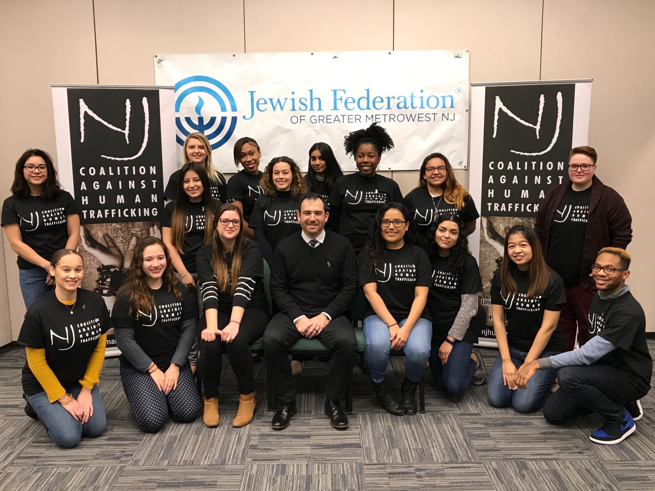 The NJ Coalition Against Human Trafficking Intern Class of 2019
