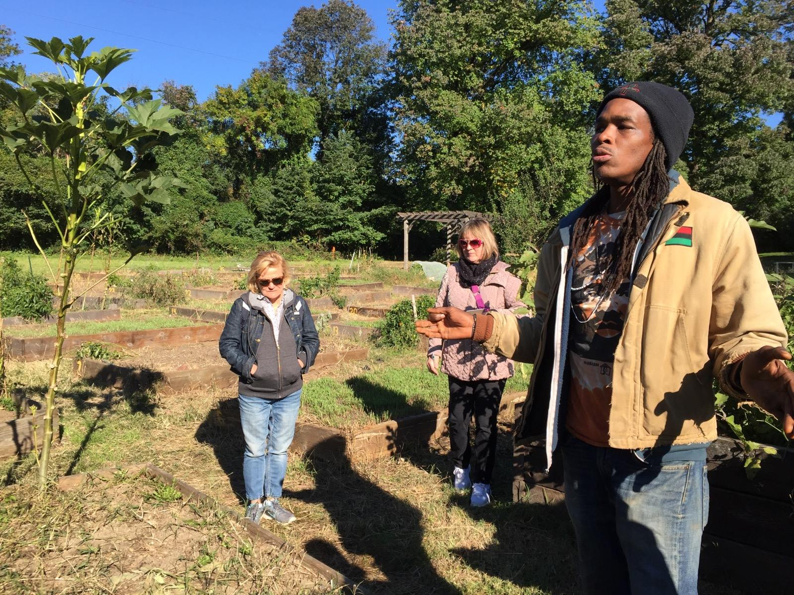 NESAWG 2017 Conference Attendees at Bartram's Garden, Philly's oldest urban garden, as part of an urban ag tour of West Philadelphia.