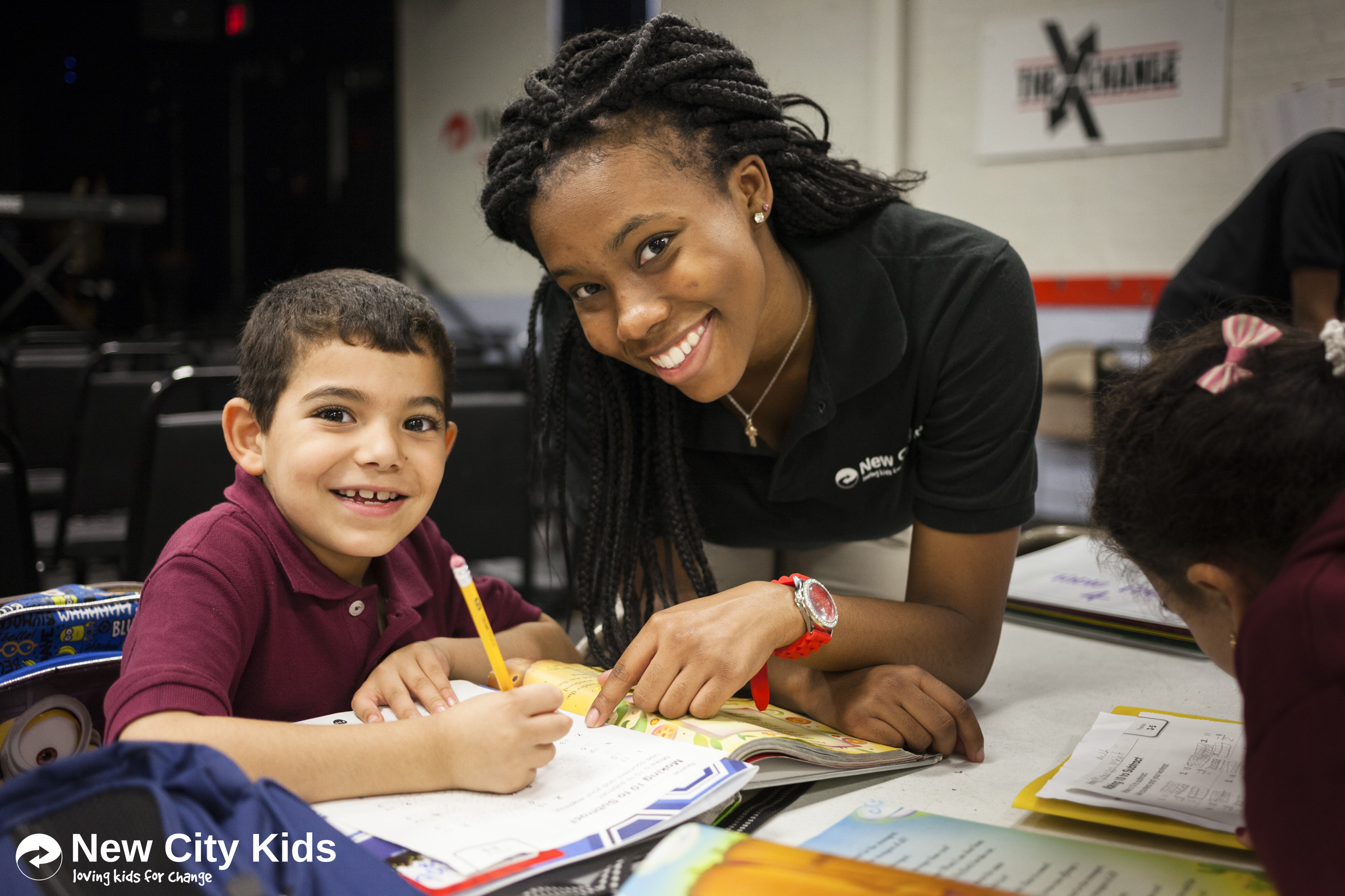 Teen Life Interns lead and support students in the After School Centers.