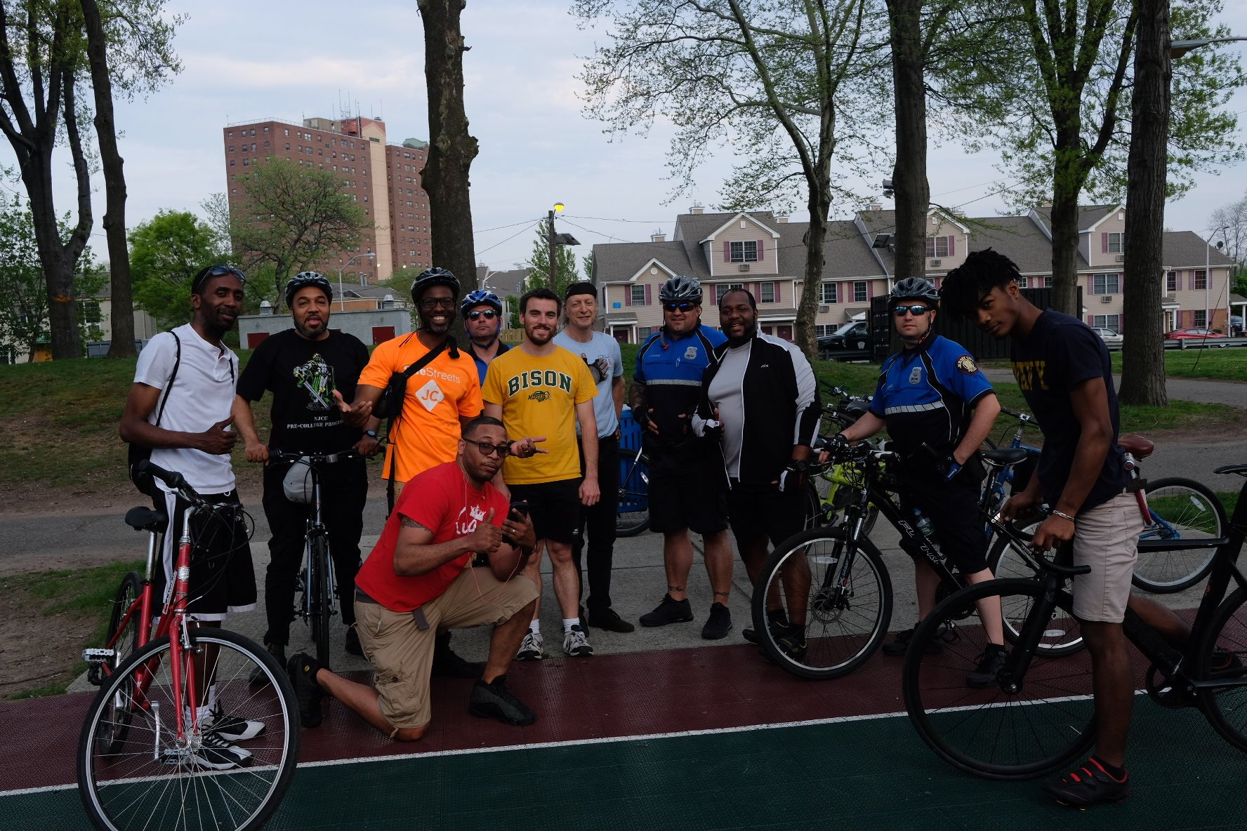 JCPD joined The Royal Men Foundation for our bike ride.