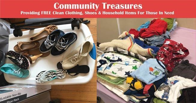 Helping our community meambers find treasures for their home and to improve their lives